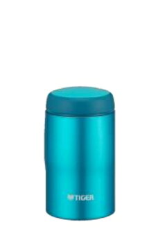 240 ml of blight blue MJA-B024AB made in Tiger Corp. stainless steel bottle Japan