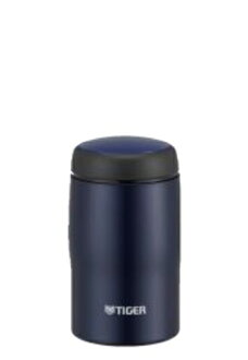 240 ml of mat navy MJA-B024AN made in Tiger Corp. stainless steel bottle Japan