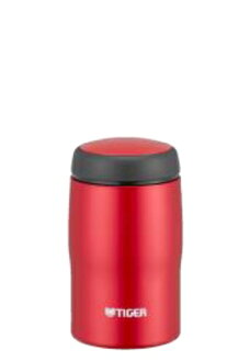 240 ml of mat red MJA-B024RM made in Tiger Corp. stainless steel bottle Japan