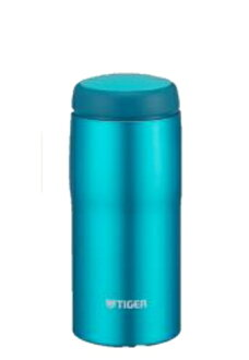 360 ml of blight blue MJA-B036AB made in Tiger Corp. stainless steel bottle Japan