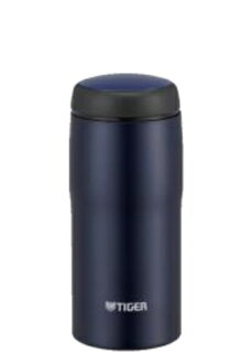 360 ml of mat navy MJA-B036AN made in Tiger Corp. stainless steel bottle Japan