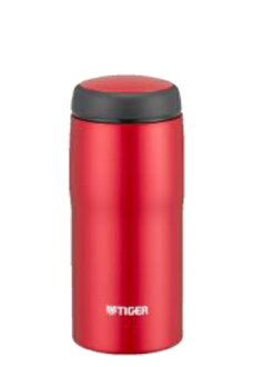 360 ml of mat red MJA-B036RM made in Tiger Corp. stainless steel bottle Japan