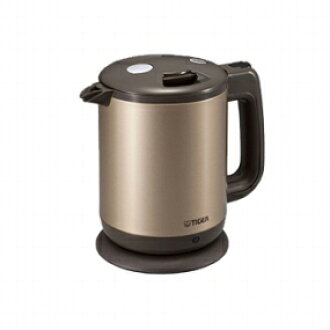 And overseas electric kettle Tiger PCD-A10W-NEZ body color champagne, 220 V specification and capacity 1.0 litres