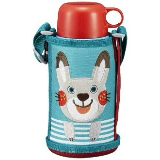 "Tiger Corp. stainless steel bottle ""コロボックルサハラ 2WAY"" rabbit MBR-B06G AR"
