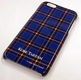 神戸タータン/KOBE TARTAN iPhone6/6Sケース (「KOBE TARTAN」ロゴありバージョン)