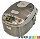 【海外向け炊飯器】【220V〜230V仕様】 象印マホービン マイコン炊飯器 3合炊き ステンレスカラー NS-LLH05 中国国内…