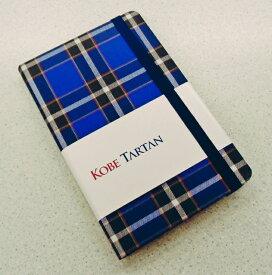 神戸タータン/KOBE TARTAN 神戸タータンカバー A6サイズ 方眼ノート