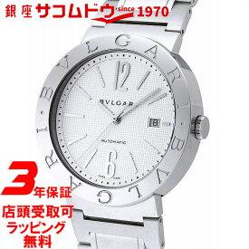 【店頭受取対応商品】[3年保証] ブルガリ BVLGARI 腕時計 ウォッチ BB42WSSD AUTO ブルガリブルガリ ホワイト メンズ [並行輸入品]