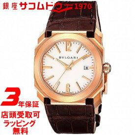 【店頭受取対応商品】[3年保証] ブルガリ BVLGARI 腕時計 ウォッチ オクト ソロテンポ BGOP38WGLD [新品] [BV600][メンズ] [並行輸入品]