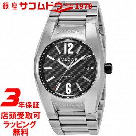 【店頭受取対応商品】[3年保証] ブルガリ BVLGARI 腕時計 ウォッチ エルゴン 〔ブラック メンズ〕 EG40BSSD/N