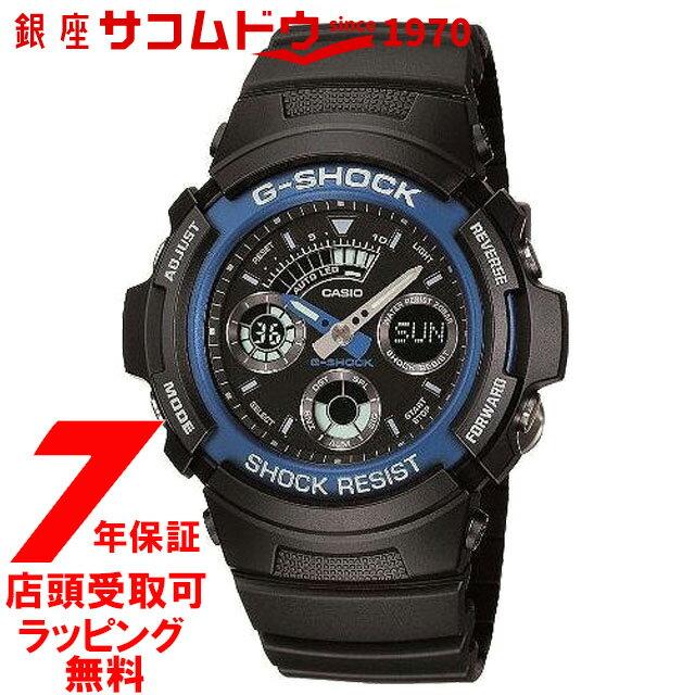 【店頭受取対応商品】カシオ CASIO 腕時計 G-SHOCK ジーショック アナログ・デジタル Newコンビネーションモデル 樹脂バンド [AW-591-2AJF][4971850881001-AW-591-2AJF]