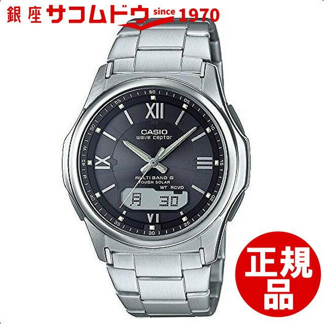 【店頭受取対応商品】カシオ CASIO 腕時計 WAVE CEPTOR 世界6局対応電波ソーラー WVA-M630D-1A4JF メンズ [4549526127335-WVA-M630D-1A4JF]