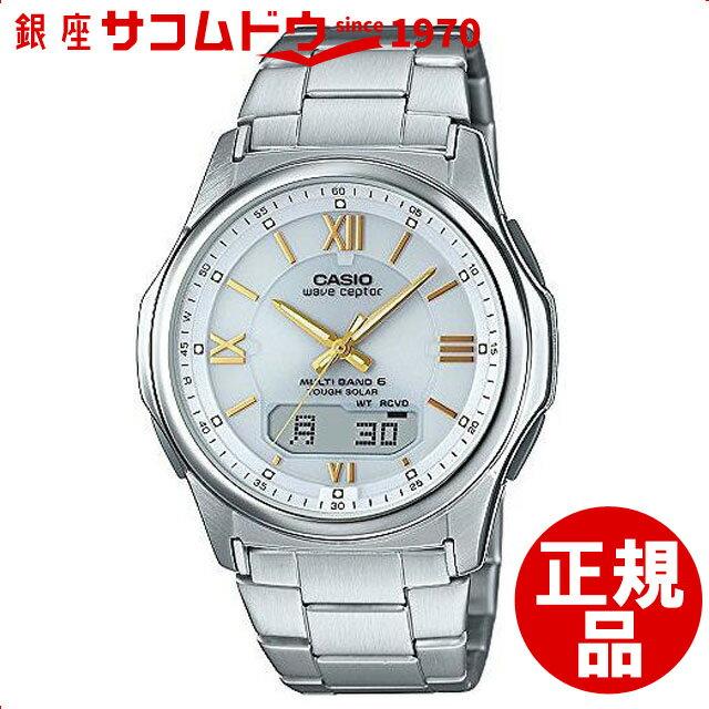 【店頭受取対応商品】カシオ CASIO 腕時計 WAVE CEPTOR 世界6局対応電波ソーラー WVA-M630D-7A2JF メンズ