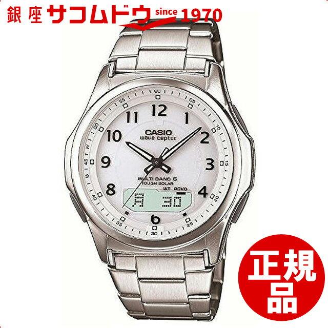 【店頭受取対応商品】カシオ CASIO 腕時計 WAVE CEPTOR ウェーブセプター ウォッチ マルチバンド6 ソーラー電波時計[WVA-M630D-7AJF][4971850966517-WVA-M630D-7AJF]