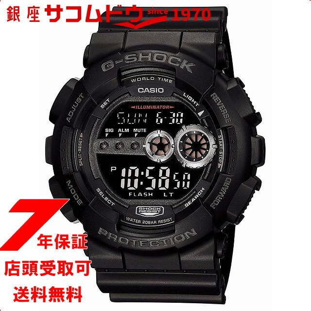【店頭受取対応商品】カシオ CASIO 腕時計 G-SHOCK ジーショック GD-100-1BJF メンズ [4971850925132-GD-100-1BJF]