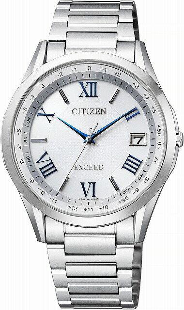 【店頭受取対応商品】[7年保証] [シチズン]CITIZEN 腕時計 EXCEED エクシード エコ・ドライブ電波時計 ペア CB1110-61A メンズ [4974375471528-CB1110-61A]
