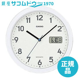 CASIO CLOCK カシオ クロック アナログ 電波 置き掛兼用時計 カレンダー付き IC-860J-7JF [4549526196362-IC-860J-7JF]
