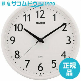CASIO CLOCK カシオ クロック アナログ掛時計 IQ-58-7JF [4971850804307-IQ-58-7JF]