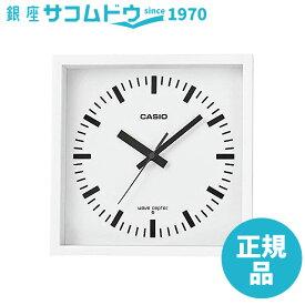 CASIO(カシオ) 掛け時計 ホワイト 電波時計 IQ-810J-7JF クロック