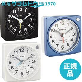 CASIO カシオ クロック TQ-750J-1JF(ブラック) / TQ-750J-2JF(ブルー) / TQ-750J-7JF (ホワイト) 目覚まし時計 コンパクトサイズ電波時計 wave ceptor 国内モデル