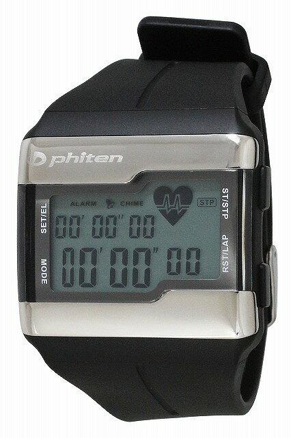 CREPHA(クレファー)ファイテン PHITEN PH-D075-BK デジタルウォッチ 腕時計 (ブラック) [3up] [4983666154903-PH-D075-BK]