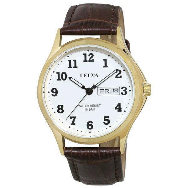CREPHA クレファー TELVA テルバ TE-AM001-WTG メンズ 腕時計 [4983666149923-TE-AM001-WTG] [メール便 日時指定代引不可]