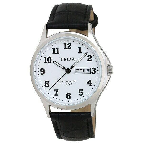 CREPHA クレファー TELVA テルバ TE-AM001-WTS メンズ 腕時計 [4983666149916-TE-AM001-WTS] [メール便 日時指定代引不可]