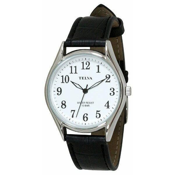 CREPHA クレファー TELVA テルバ TE-AM008-WTS メンズ 腕時計 [4983666149770-TE-AM008-WTS] [メール便 日時指定代引不可]