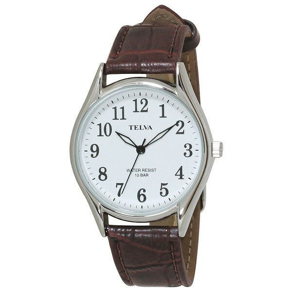 CREPHA クレファー TELVA テルバ TE-AM009-WTS メンズ 腕時計 [4983666149787-TE-AM009-WTS] [メール便 日時指定代引不可]