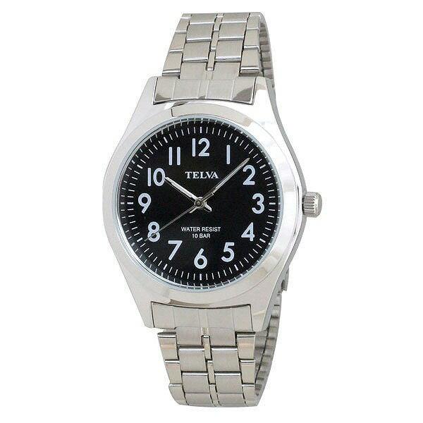 CREPHA クレファー TELVA テルバ TE-AM010-BKS メンズ 腕時計 [4983666149800-TE-AM010-BKS] [メール便 日時指定代引不可]