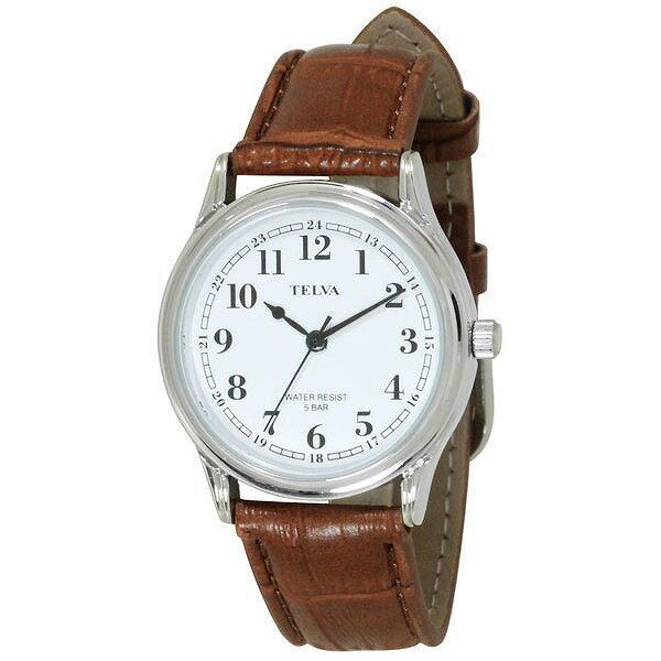 CREPHA クレファー TELVA テルバ TE-AM023-WTS メンズ 腕時計 [4983666153135-TE-AM023-WTS] [メール便 日時指定代引不可]