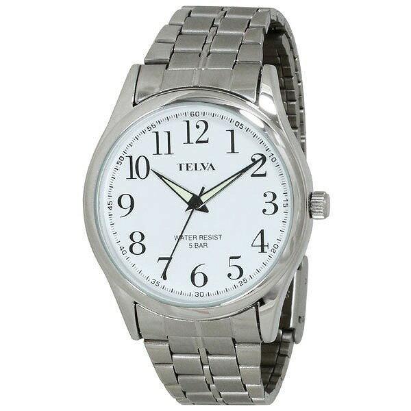 CREPHA クレファー TELVA テルバ TE-AM025-WTS メンズ 腕時計 [4983666153173-TE-AM025-WTS] [メール便 日時指定代引不可]