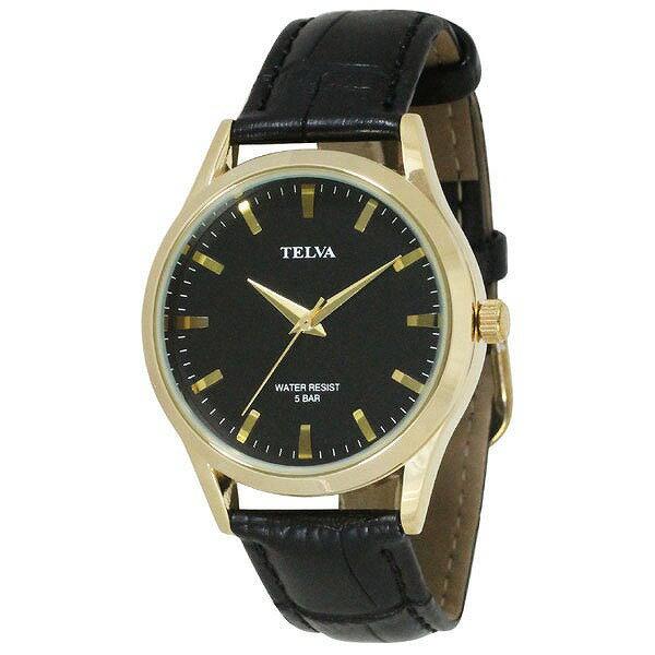 CREPHA クレファー TELVA テルバ TE-AM033-BKG メンズ 腕時計 [4983666153326-TE-AM033-BKG] [メール便 日時指定代引不可]