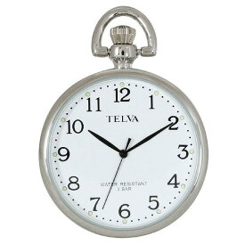 [CREPHA] クレファー 腕時計 ウォッチ TELVA テルバ TE-AM038-WTS 懐中時計 [メール便 日時指定代引不可]