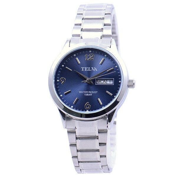 CREPHA クレファー テルバ TELVA TEV-2263-BUA アナログ腕時計 メンズ [4983666124975-TEV-2263-BUA] [メール便 日時指定代引不可]