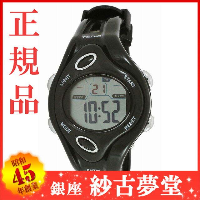 [クレファー]CREPHA 子供用腕時計 デジタル表示 ストップウォッチ機能付き 5気圧防水 ブラック TEV-2529-BK ボーイズ[ファッションキッズウォッチ][3up]