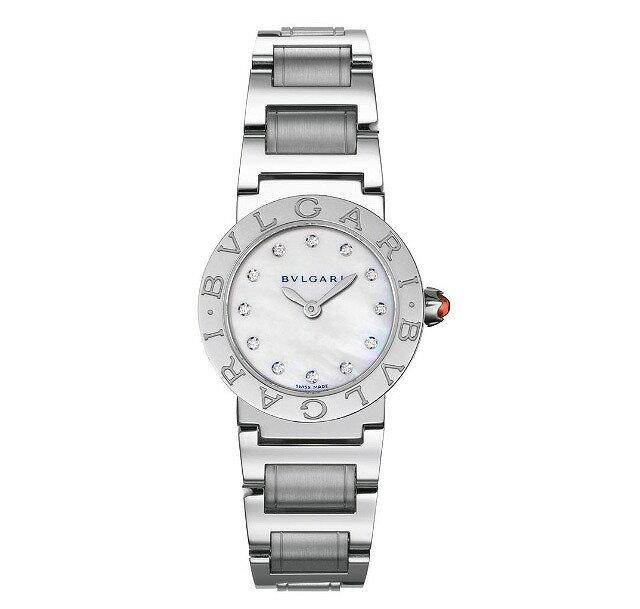 [当店だけのノベルティ付き] 【店頭受取対応商品】[3年保証] ブルガリ BVLGARI 腕時計 ウォッチ ブルガリブルガリ ホワイトパール文字盤 BBL26WSS/12 レディース [並行輸入品]