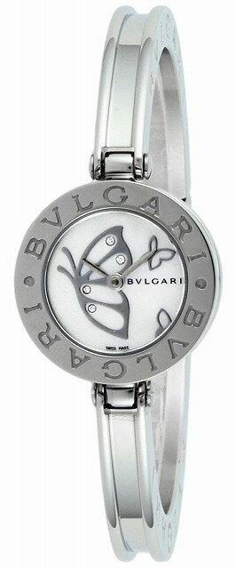 [当店だけのノベルティ付き] 【店頭受取対応商品】[3年保証] ブルガリ BVLGARI 腕時計 ウォッチ B-zero1 ホワイトパール文字盤 BZ22BDSS.S レディース [並行輸入品]