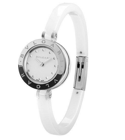 [当店だけのノベルティ付き] 【店頭受取対応商品】[3年保証] ブルガリ BVLGARI 腕時計 ウォッチ B-ZERO1 ホワイト文字盤 BZ23WSCC.S レディース [並行輸入品]
