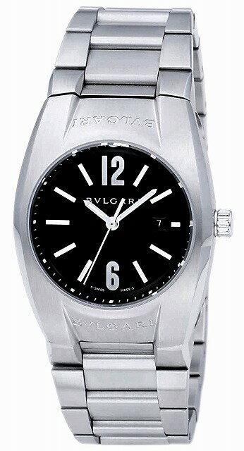 [当店だけのノベルティ付き] 【店頭受取対応商品】[3年保証] ブルガリ BVLGARI 腕時計 ウォッチ EG30BSSD エルゴン ブラック レディース [並行輸入品]