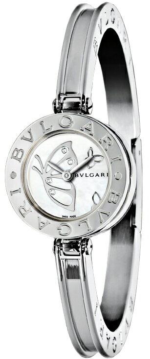 [当店だけのノベルティ付き] 【店頭受取対応商品】[3年保証] ブルガリ BVLGARI 腕時計 ウォッチ B-zero1 ホワイトパール文字盤 BZ22BDSS.M レディース [並行輸入品]