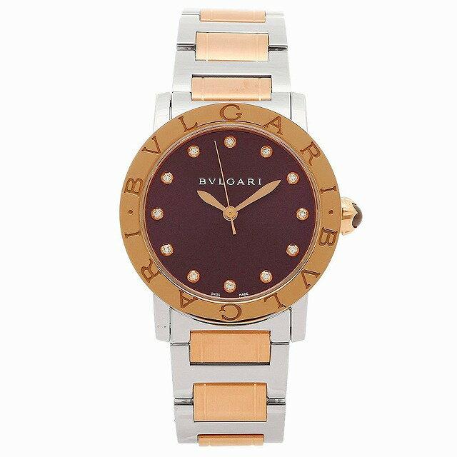 [当店だけのノベルティ付き] 【店頭受取対応商品】[3年保証] ブルガリ BVLGARI 腕時計 ウォッチ BBL33C7SPG 12 ブルガリブルガリ レディース腕時計 ウォッチ パープル/ローズゴールド/シルバー [並行輸入品]