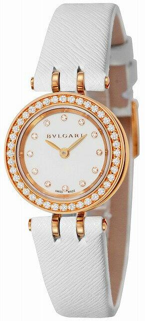 [当店だけのノベルティ付き] 【店頭受取対応商品】[3年保証] ブルガリ BVLGARI 腕時計 ウォッチ B-ZERO1 ホワイト文字盤 BZ23WSGDL/12 レディース [並行輸入品]