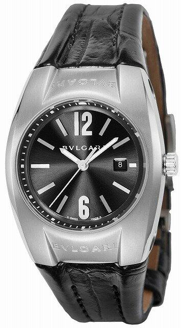 [当店だけのノベルティ付き] 【店頭受取対応商品】[3年保証] ブルガリ BVLGARI 腕時計 ウォッチ エルゴン ブラック文字盤 EG30BSLD レディース [並行輸入品]