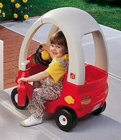 [メーカー直送品のためラッピング・代引き不可] STEP2 (ステップ2) ちびっこマイクーペ(赤)[7419-R] [大型玩具 大型遊具 ベビー おもちゃ 野外 屋内 室内 子供用 保育園 幼稚園]