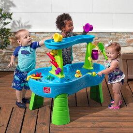 [メーカー直送品のためラッピング・代引き不可] STEP2 (ステップ2) シャワースプラッシュテーブル [8746][大型玩具 大型遊具 ベビー おもちゃ 野外 屋内 室内 子供用 保育園 幼稚園]