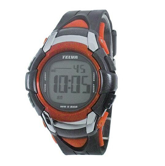 [テルバ]TELVA 腕時計 クロノグラフ デジタル メンズウォッチ TEV-2507-RD レッド メンズ[4983666114563-TEV-2507-RD][3up]