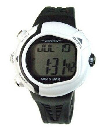 [テルバ]TELVA 腕時計 心拍計測機能付 デジタル メンズウォッチ TEV-2513-WT ホワイト メンズ
