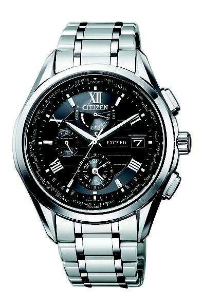 【店頭受取対応商品】「CITIZEN]シチズン EXCEED エクシード エコ・ドライブ電波時計 ダブルダイレクトフライト AT9110-58A メンズ 腕時計