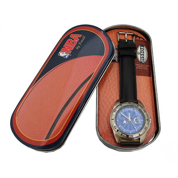 [訳ありアウトレット][正規品]FOSSIL フォッシル NBAウォッチ オーランド・マジック LI-1548 オリジナル缶ケース付き バスケットボール